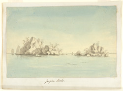 'Jangira Rocks in the Ganges'